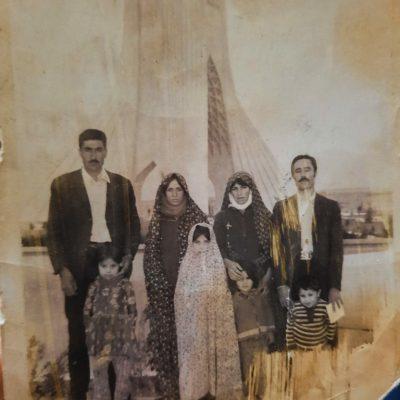 عکس از آلبوم شخصی سمیه زاجکانی