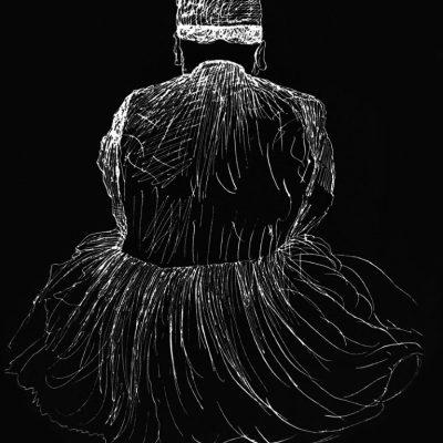 تصویر: نقاشی ناصرالدین شاه از اعتمادالسلطنه ۱۲۹۵ هجری شمسی